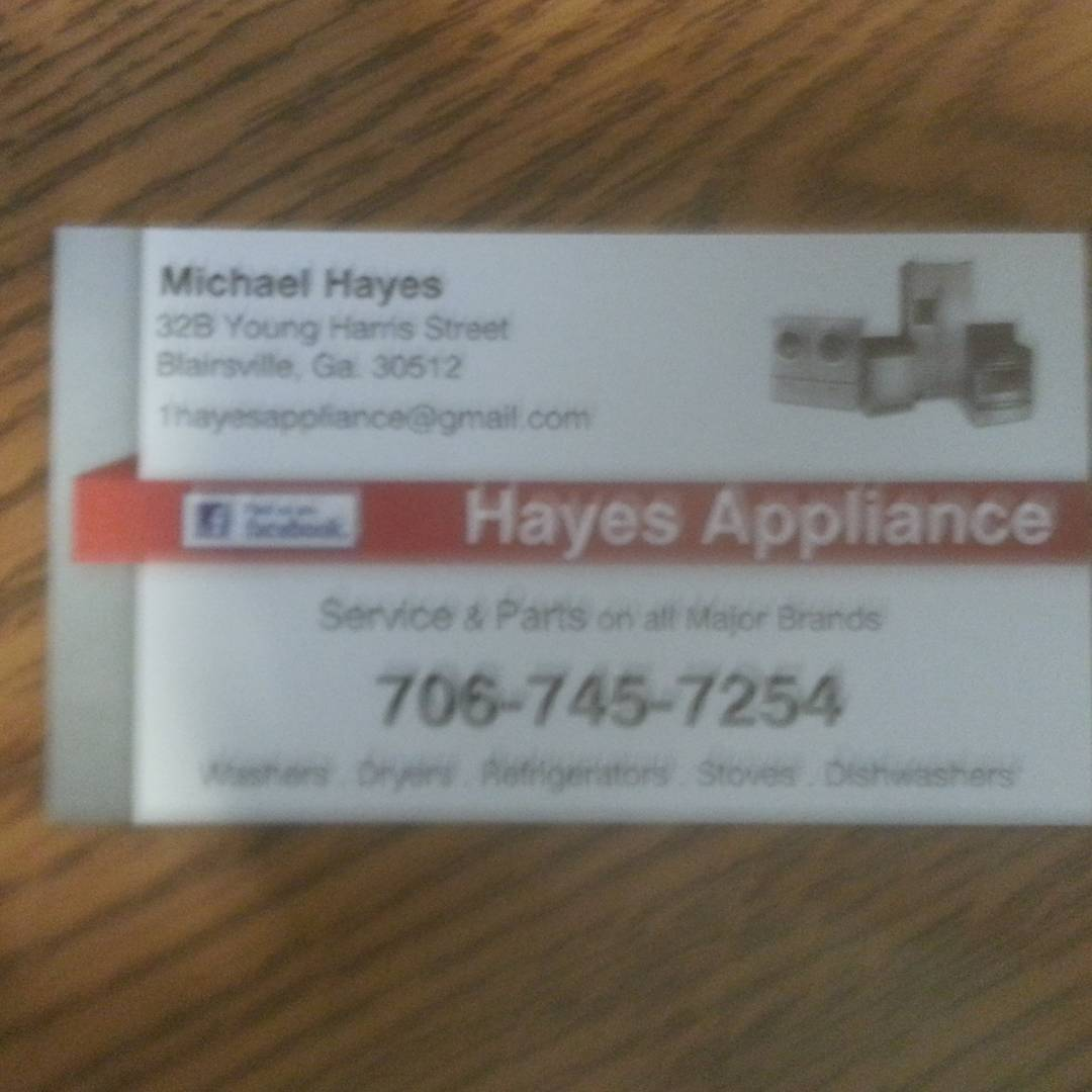 Hayes Appliance